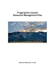 P'egp'íg'lha Council Resource Management Plan