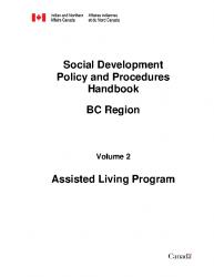 Vancouver SD Handbook BC Region VOL 2 Assisted Living