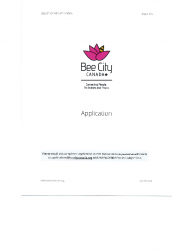 BEE CITY Application (2/2017)