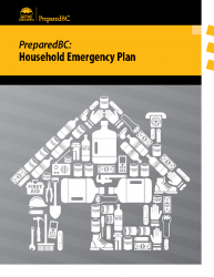 Prepared BC: Household Emergency Plan