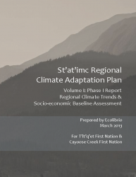 St'at'ic Regional Climate Adaptation Plan