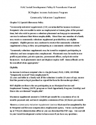 INAC Social Development Policy_Comm Vol Supp