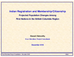 BC Region Presentation (Dec 22 draft)