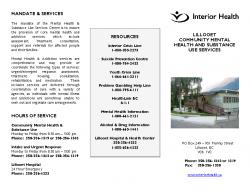 Mental Health Brochure-Lillooet-PDF