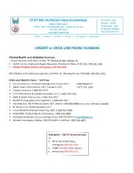 SOHS Urgent or Crisis line phone numbers_07_2019